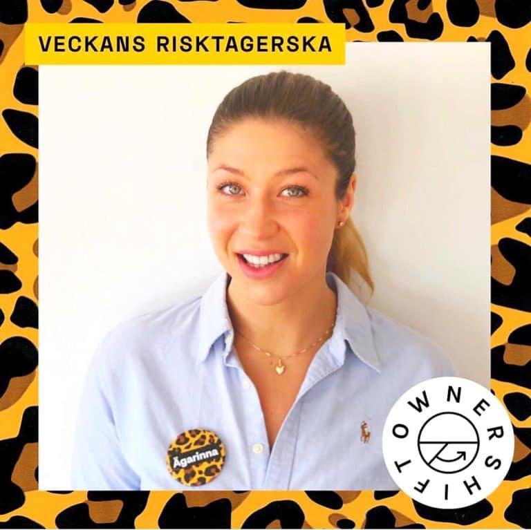 Ownershift - veckans risktagerska och ägarinna - Elisabeth Svensson @RikaKvinnor.se