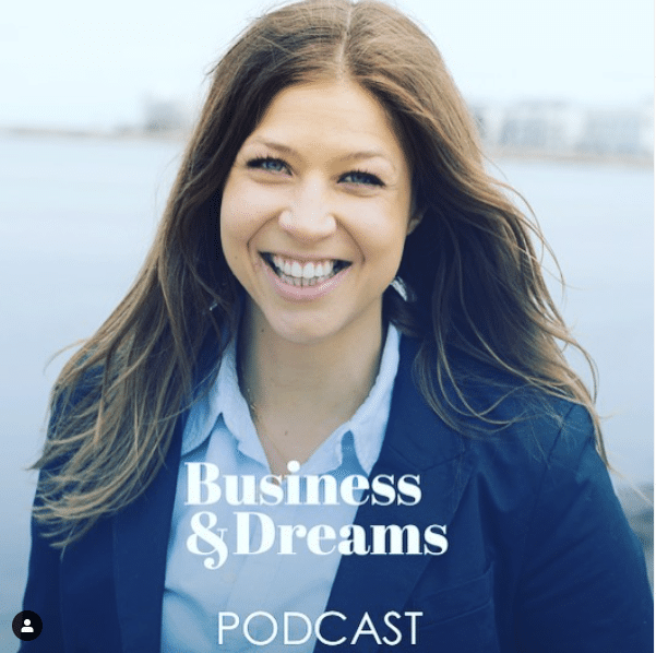 RikaKvinnor.se gästar Business & Dreams podcast