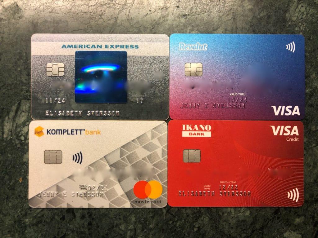Bästa kreditkort 2021 samt tjäna pengar på kreditkort @RikaKvinnor.se