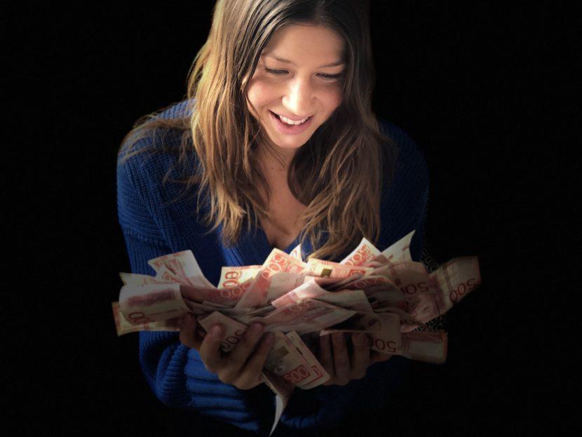 Pengaregn, ekonomisk frihet och passiva inkomster @RikaKvinnor.se