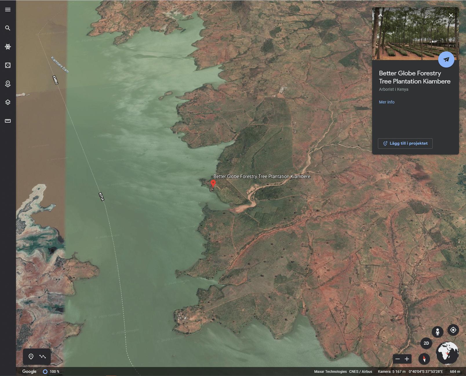 Better Globe från Google Earth