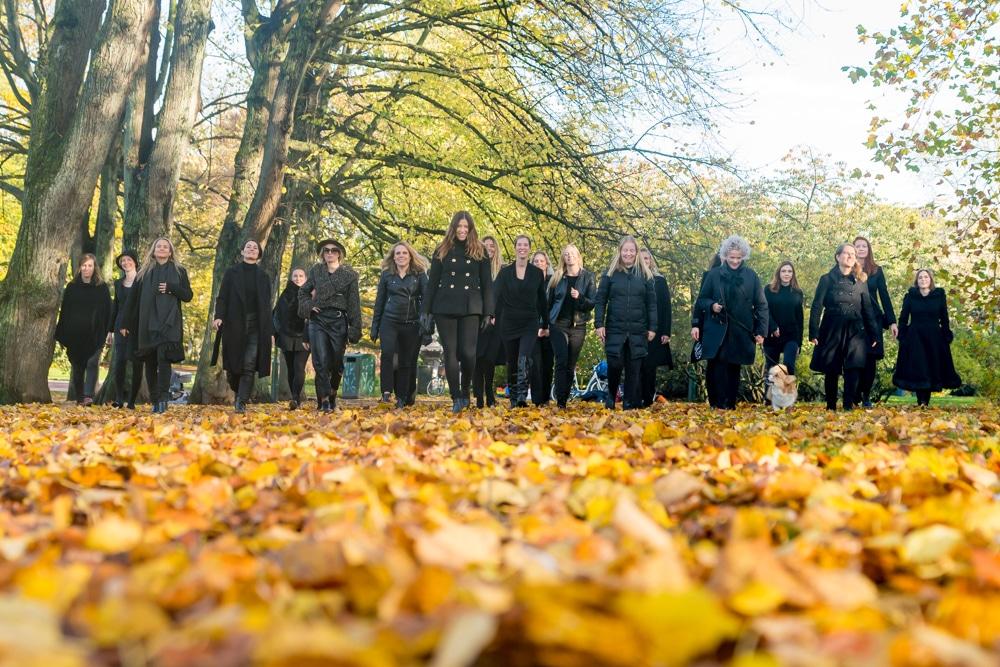 RikaKvinnor.se @girlpower, team, women in group, woman, kvinnor, teamwork, höst, malmö